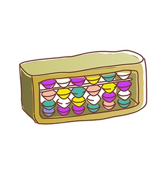 An abacus is placed vector