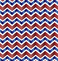 Chevron zig zag red white and blue vector