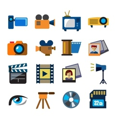 Movie technology vector