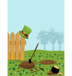 St patrick's treasure vector
