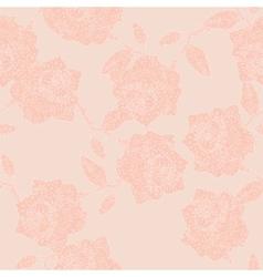 Roses ornament vector