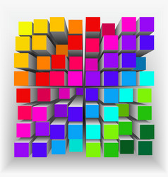 Abstract geometrical shape2 vector