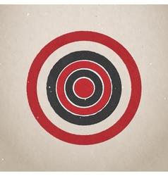 Paper target vector