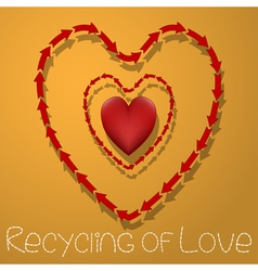 Recycling of love vector