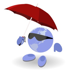 Weather world vector