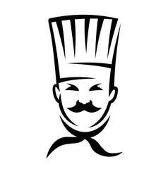 German cuisine chef vector