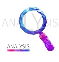 Analysis polygon vector