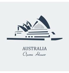 Australia opera house sydney vector