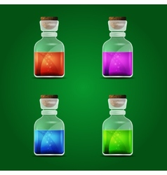 Magic potion vector