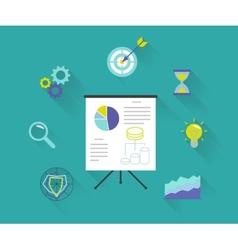 Analytics process vector