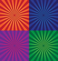 Colorful background design elements vector