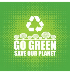 Go green vector