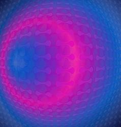 Neon blue vector