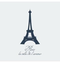 Paris eiffel tower vector