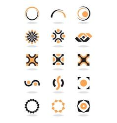 Corporate design element vector