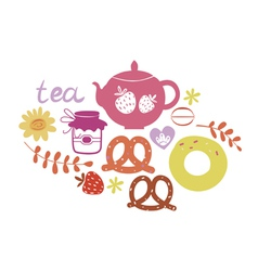 Tea composition vector