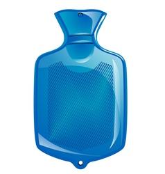 Hot water bottle vector