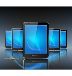 Computer tablets vector