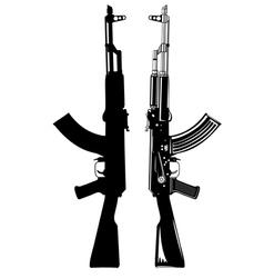 Ak 47 vector