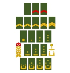 Netherlands army insignia vector