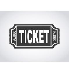 Ticket design vector