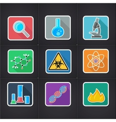 Icon science vector