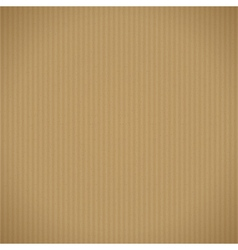 Corrugated cardboard background vector