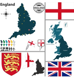 England map vector