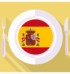 Kitchen of spain vector
