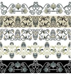 Greec patterns vector