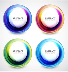 Swirl set vector
