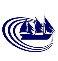 Sailing ship 8 vector