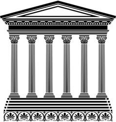 Greec temple vector