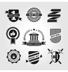 Set of symbols vector