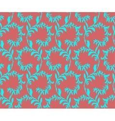 Seamless texture floral theme vector