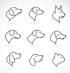 Image of an dog head vector