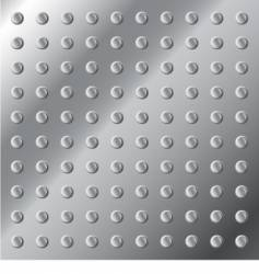 Metal surface texture with nubs vector
