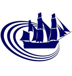 Sailing ship 17 vector