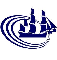 Sailing ship 18 vector