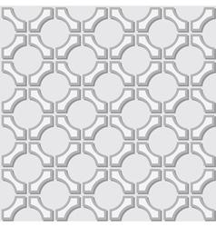 Geometric gray background vector