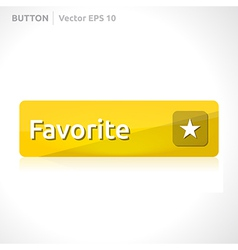 Favorite button template vector
