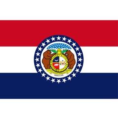 Missouri flag vector