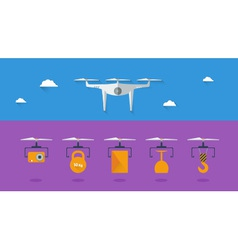 Quadrocopter infographic 03 vector