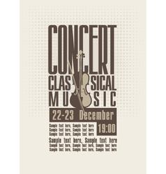 Concert music vector
