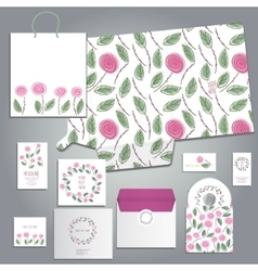 Lovely card or invitation vector
