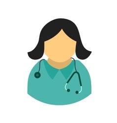 Female doctor vector