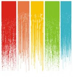 Grunge drips background vector