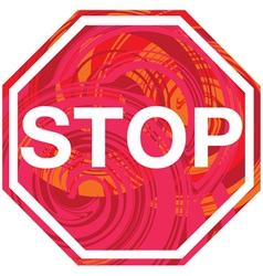 Stop symbol vector