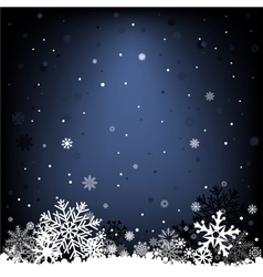 Dark blue snow mesh background vector