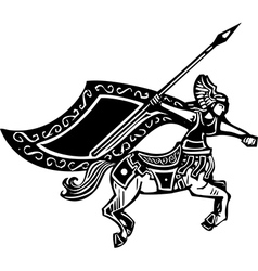 Female centaur vector